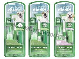 TropiClean Oral Care Kit for Dogs 3pc