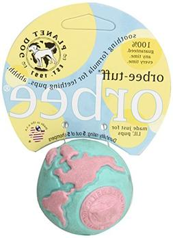 Planet Dog Orbee Tuff Lil' Pup Ball, Durable Dog Toy for Pup