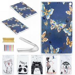 Pattern Clear Soft Rubber Silicone Case Cover for Amazon Kin