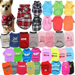 pet cat dog clothes for puppy chihuahua
