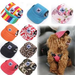 Pet Dog Hat Baseball Cap Windproof Travel Sports Sun Hats fo