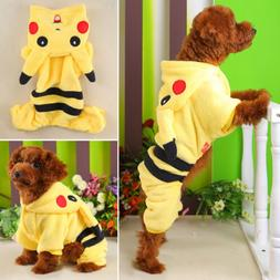 Pet Dogs Clothes Coat Apparel Puppy Warmer Jacket Hoodie Pik