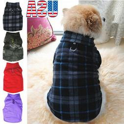 Pet Dogs Fleece Jumper Knitwear Winter Coat Puppy Chihuahua