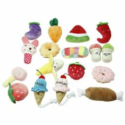 Pet Dogs Plush Sound Chew Toys Puppy Chew  Toys Kong Dog Toy