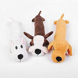 Bazzano Pet Puppy Chew Squeaker Squeaky Plush Sound Dog ForD