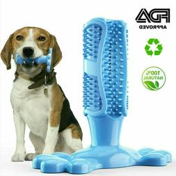 Dog Toothbrush Pets Brushing Stick Teeth Cleaning Chew Toy F