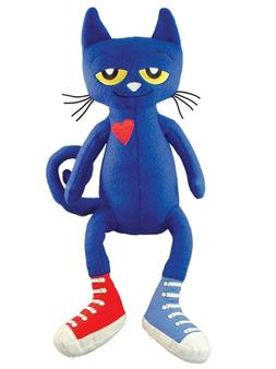 "MerryMakers Pete the Cat 14.5""  Plush Doll"