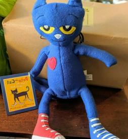 Pete the Cat Plush Doll, 14.5-Inch New with tags Merrymakers