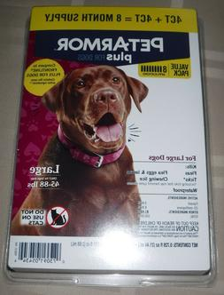 Pet Armor Plus Flea and Tick Prevention for Dogs 45-88 Lbs 8