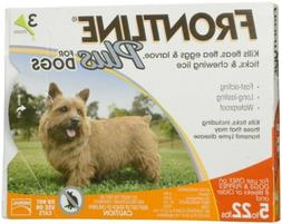 Frontline Plus Flea and Tick Treatment for Small Dogs  - 3 D
