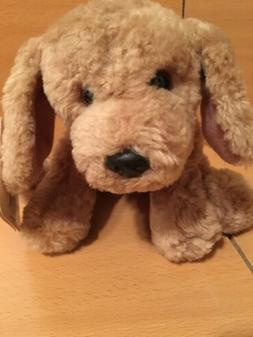 Plush Stuffed Dog Gotta Get GUND Puddles Beige New with Tags