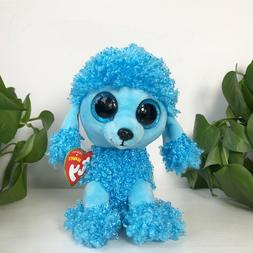 "Plush Toy 6"" TY Beanie Boos Big Eyes With Tag Soft Stuffed T"