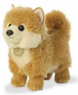 10 Inch Miyoni Pomeranian Puppy Dog Plush Stuffed Animal by