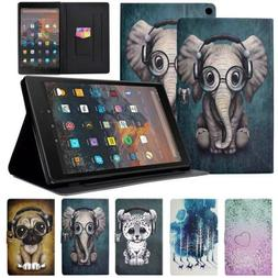 PU Leather Flip Stand Smart Cover Case for Amazon Kindle HD1