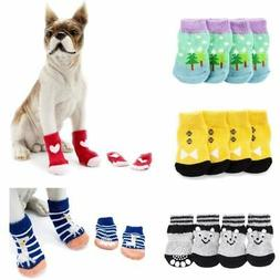 puppy shoes anti slip knit socks small