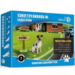 Radio Wave Electric Dog Fence System by FunAce - Easy to Ins