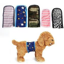 Reusable Dog Puppy Washable Diapers Belly Bands For Small La