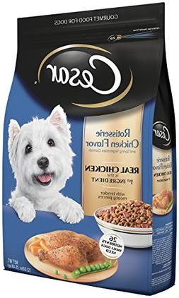 Cesar Small Breed Dry Dog Food Rotisserie Chicken Flavor Wit