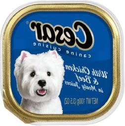 Cesar Select Dinners for Small Dogs with Chicken and Beef in