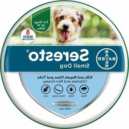 Bayer Seresto Flea and Tick 8 Months Collar for Small Dogs u