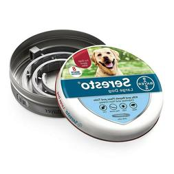 Bayer Seresto Flea and Tick Collar for Large Dogs Over 18lbs
