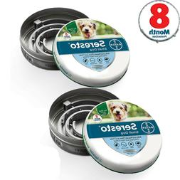 Bayer Seresto Flea and Tick Collar for Small Dog 8 Month Pro