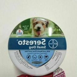 Bayer Seresto Flea and Tick Collar for Small Dog,8 Months Pr