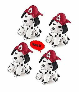 Set of 12 Plush DALMATION puppy Dogs - 7 inch size