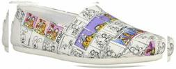 Skechers BOBS Women's Plush-Cartoons Forever Ballet Flat
