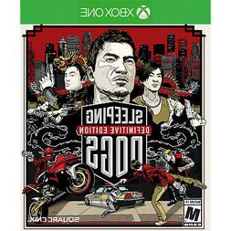 Sleeping Dogs: Definitive Edition  Xbox One [Brand N