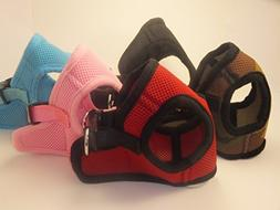 Soft Mesh Comfy Step in Dog Vest Harness for Teacups, Toys,