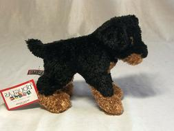 """Sparky Rottweiler Dog by Douglas Cuddle Toys, about 7"""" tall"""