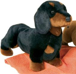 Stuffed Spats Black and Tan Dachshund Dog 14