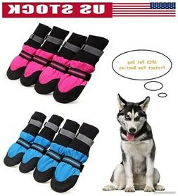 Summer Dog Shoes & Large Boots Safe Anti-slip Paw Protector