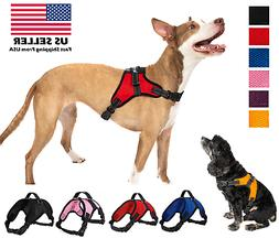Pet Control Harness for Dog Soft Mesh Walk Large Small Mediu