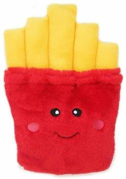Super Cute Nom Nomz FRIES Dog Toy by Zippy Paws Puppy Plush