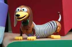 Toy Story Land Disney World Pixar Slinky Dog Toy Light Up