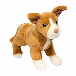 Douglas Toys Reese Yellow Lab Pit Bull Mix Dog, 17""