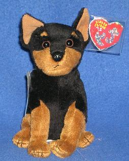 "TY TROOPER THE 2.0 BEANIE BABY DOG-6""-UNUSED CODE-2008-MWNMT"