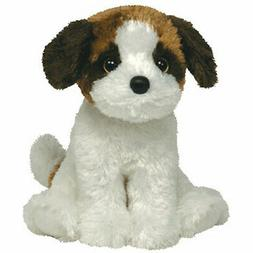 TY Beanie Babies Plush YODEL the Brown & White Dog