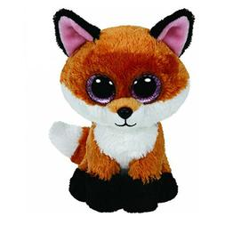 Ty Beanie Boos 6-Inch Slick Brown Fox Plush Beanie Baby Plus