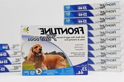 US EPA Reg. FRONTLINE PLUS for Dogs 23 - 44 lb - 3 Doses