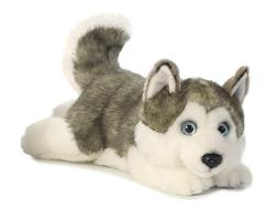 valentines day gift Miyoni Lying Husky Dog Plush Stuffed Ani