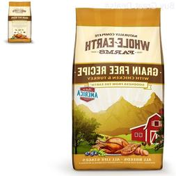 Whole Earth Farms Grain Free Recipe Dry Dog Food, Chicken &