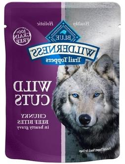 Blue Buffalo Wilderness Trail Toppers Chunky Beef Bites Dog