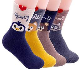 women socks gift set animal cat dog