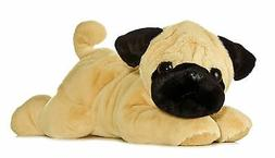 Aurora World Flopsie Pugger Pug Dog 12""