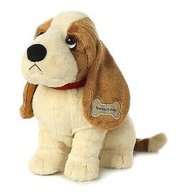 "Aurora World Hush Puppies Classic Basset Hound, 10"" Plush"