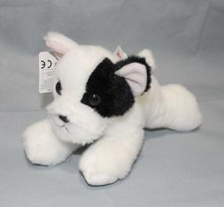 Aurora 31745 World French Bulldog Pup Plush Toy, Black/White