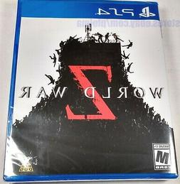 WORLD WAR Z Brand New Sealed PS4 Game PlayStation 4 USA Rele